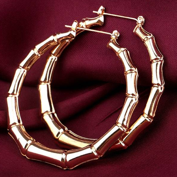 big hoop punk earrings